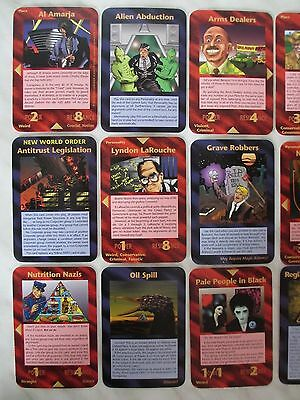 INWO ASSASSINS RARE SET - ALL 30 R Card - Illuminati New World Order Steve ccg