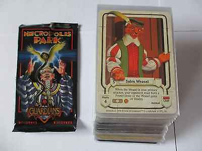 Guardians CCG NECROPOLIS PARK Near Set 101 cards (1 missing) FTG TCG NM-M UR mag