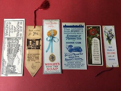 Book Marks. Lot Of Six