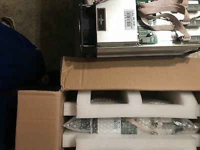 2x NEW Bitmain Antminer S9 13.5 TH/s Bitcoin/Cash Miner with APW3+