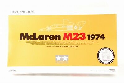 TAMIYA 1/12 McLaren M23 1974 BIG SCALE SERIES ETCHED PARTS INCLUDED VERY RARE!!