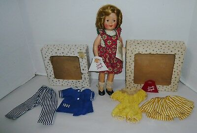 Vintage Ideal Shirley Temple Doll W/clothes & Boxes