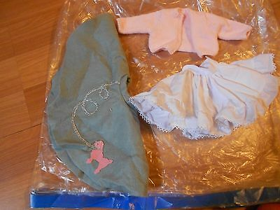 Magic Attic Doll  Poodle Skirt 3 Piece Set ~ Pink Sweater