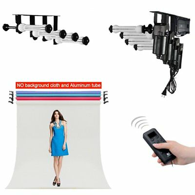 Studio 4 Roller Motorized Electric Background Backdrop Support System 100~120V