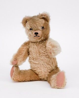 "17"" Vintage Teddy Bear Fully Articulated c1930's"