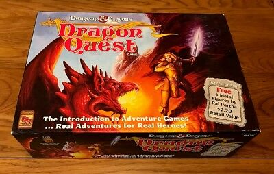 TSR - Dungeons & Dragons Dragon Quest Boardgame - Complete and Boxed