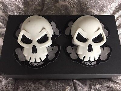 Oxford Skull Motorcycle Slider / Knee Protectors