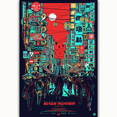 G-612 Hot New Blade Runner 2049 Harrison Ford 2017 Movie Poster Art Wall Fabric