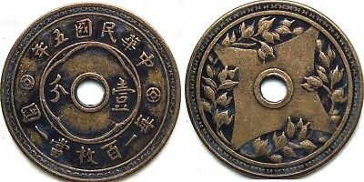 Chinese ancient Copper Coin Diameter:26mm