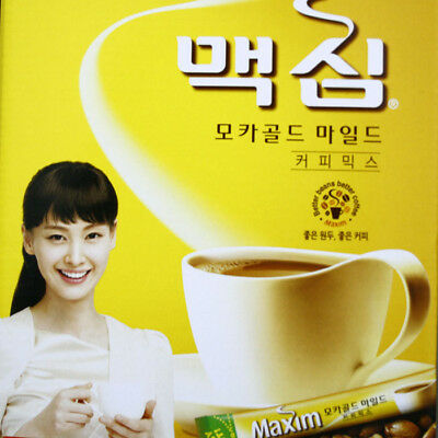Instant Coffee Mamxim Mocha Gold Mild (Korean best Mix coffee)
