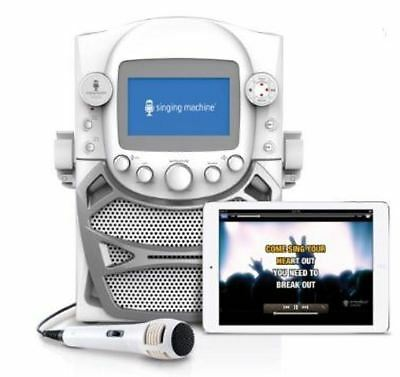"""Monitor and Microphone CD+G System Built-in Karaoke 5"""" Singing Machine"""