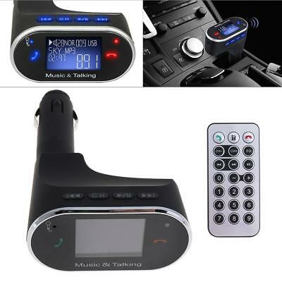 Wireless Bluetooth FM Transmitter Radio Car MP3 Music Player USB Charger +Remote