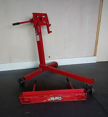Clarke engine stand and sheet metal folder