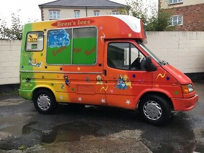 Ford Transit Soft Ice Cream Van Carpigiani Machine Winter Project Bargain
