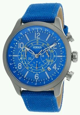 Versus by Versace Men's watch, Soho Chronograph Blue