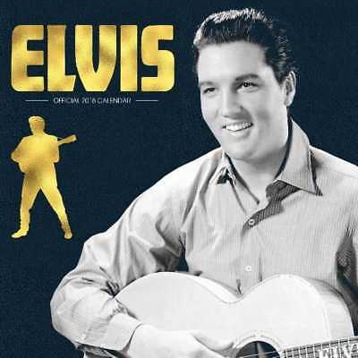 Elvis Presley Official 2018 Square Wall Calendar Calender The King of Rock Roll