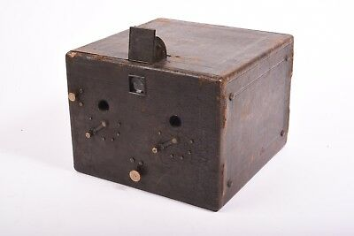 Vintage stereo box camera by Murer's Express SL Newness. Format 8x17 cm.
