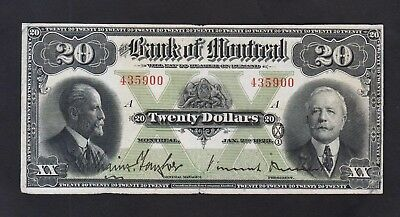 Bank of Montreal 1923 20  Dollars Canada Chartered   505-56-06