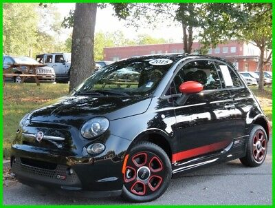 2015 Fiat 500 Battery Electric FIAT ELECTRIC 500e POWER SUNROOF BACKUP SENSORS HEATED SEATS eSPORT PACKAGE