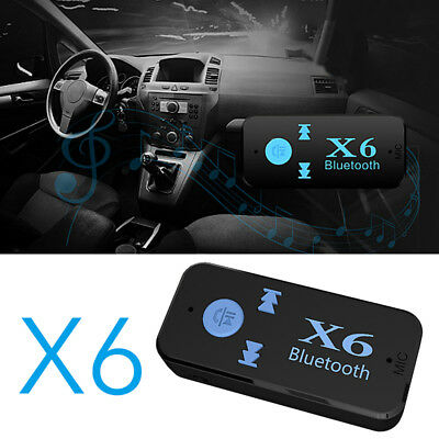 3.5mm Bluetooth 4.1 Car Home Music Audio Aux Stereo Receiver Adapter Transmitter