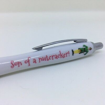 Son Of A Nutcracker  - Elf Movie Gifts Fans Personalised Pen Gift Xmas