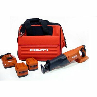 Milling Machines Hilti 03467882 WSR 18-A CPC Reciprocating Cordless Saw Package