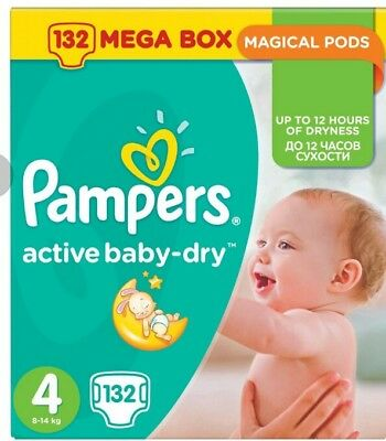 Pampers Active Baby Dry Gr.4