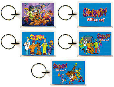 Scooby Doo Where Are You Keyring 50mm x 35mm