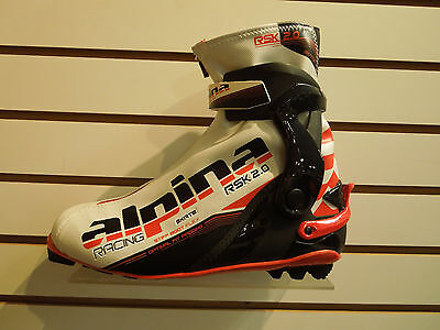 Alpina RSK   Cross Country Ski Boots Size 46  Skate Specific  NEW!