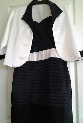 mother of the bride dress and jacket size 12