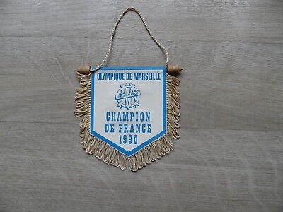 fanion om champion de france 1990