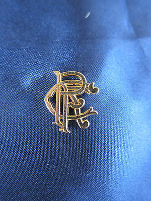 Glasgow Rangers gold coloured badge pin