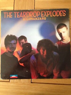 The Teardrop Explodes Kilimanjaro vinyl PROMO inc Photo And Press Release RARE!