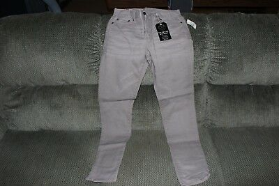 Mens Aeropostale Jeans Size 28x30-new with tags Tapered Skinny-gray