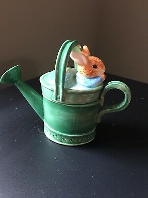 Boarder Fine Arts Beatrix Potter Peter Rabbit Ceramic Trinket Pot