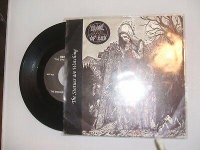 Denial of God - The Statues are Watching 7'' Maggot 1995