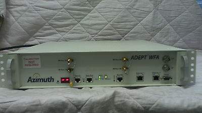 Azimuth Adept WFA Wi-Fi Certification Alliance Test Tool / Measurement