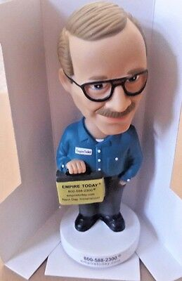 Empire Today Bobblehead Carpet Salesman Flooring Over 50 Years Box Advertising b