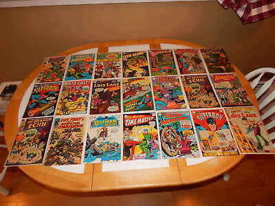 WOW Great Lot Of 21 Silver Age Comics W/Key MId-Grade Condition Lot #1