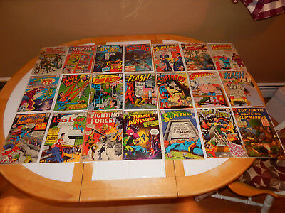 WOW Great Lot Of 21 Silver Age Comics W/Key MId-Grade Condition Lot # 2
