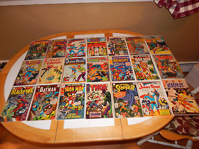WOW Great Lot Of 21 Silver Age Comics W/Key MId-Grade Condition Lot # 3