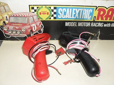 scalextric vintage c265 hand controls working(analouge)