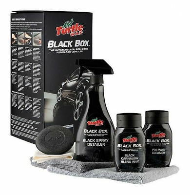 Turtle Wax Black Box Detailing Kit Wax + Detailer