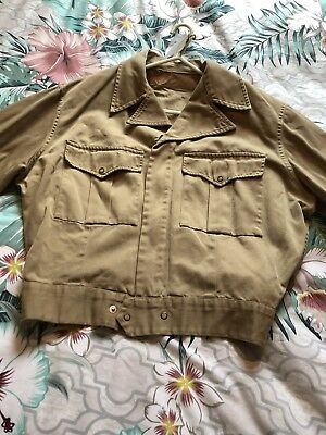 1940s shirt Converted to a Jacket Size 8