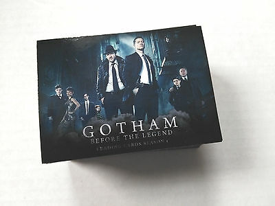 Gotham Before the Legend Season 1 Complete 72 Card Base Set