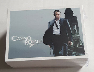 James Bond Archives 2014 Comple 99 Card Base Set Casino Royale