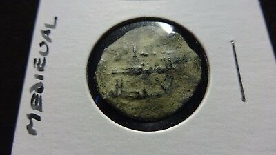 ISLAMIC Medieval Bronze Coin 13TH Century