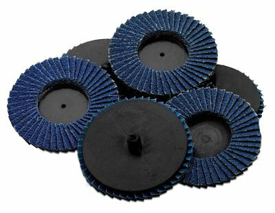 Flap Discs 60 Grit 10Pcs 3In- Change Grinding Wheels For Rotary Die Grinder Dril