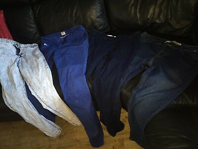 Job Lot Ladies Jeans And Jeggings Size 12