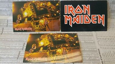 Iron Maiden postcard 1984 Lot of 3
